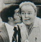 #25/#16 on the funniest memorable TV Sammy Davis, Jr. kisses Archie Bunker